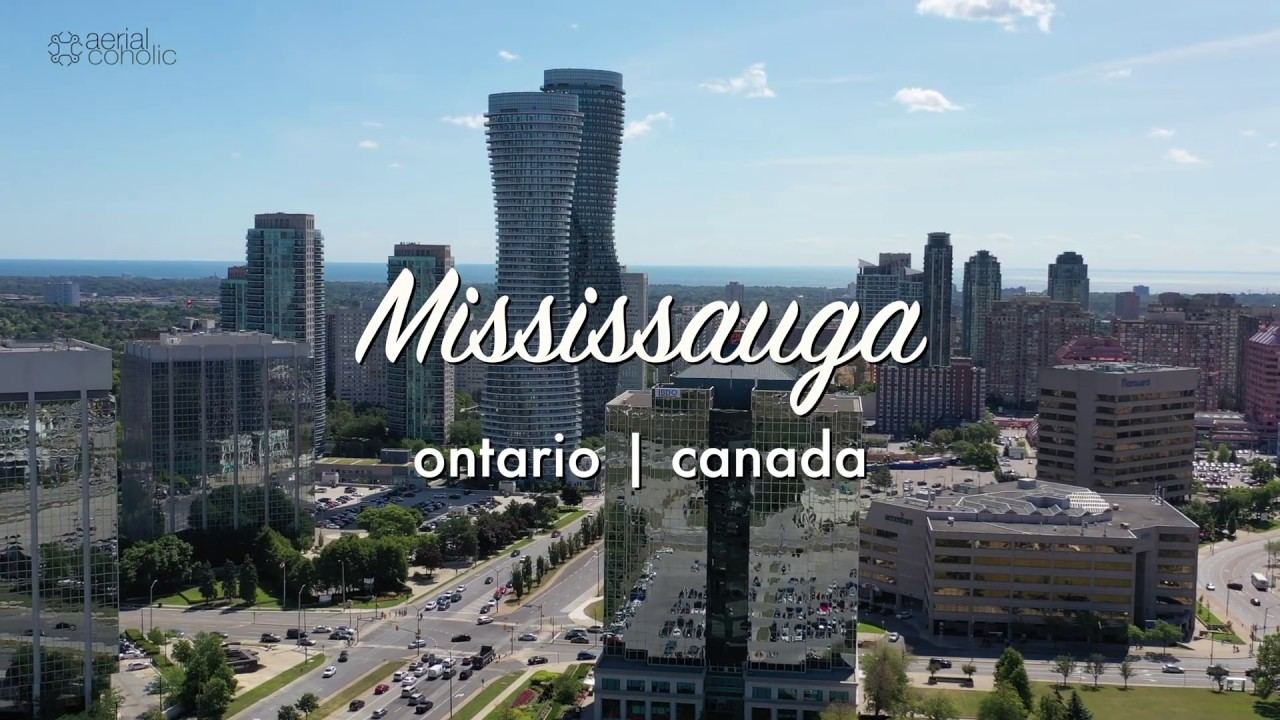 Aerial View Of Mississauga